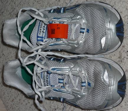 Surf City Half Marathon Shoe Tag