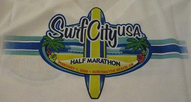 Surf City Half Marathon Tshirt logo