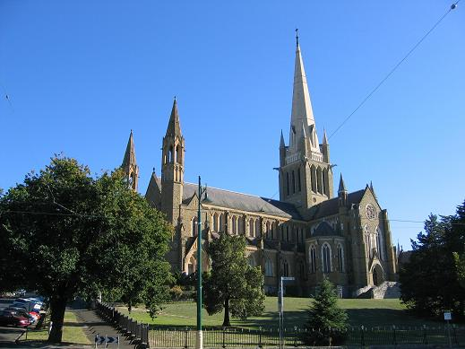 An amazing church in Bendigo, Aus